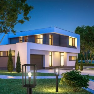 illuminazione esterna casa indipendete