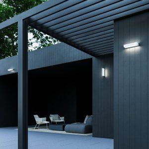 lampade da parete per esterno giardino patio