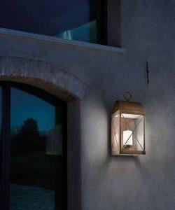 lampada da parete per esterno lanterna