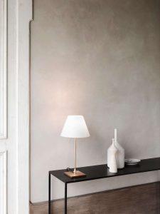 lampada da tavolo luceplan ingresso casa