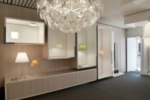 Lampade luceplan esposizione showroom
