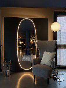 IC Flos lampade showroom E'luce