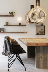 Lampade in legno secto design