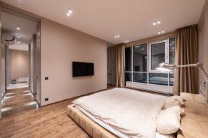 illuminazione a led a soffitto camera da letto
