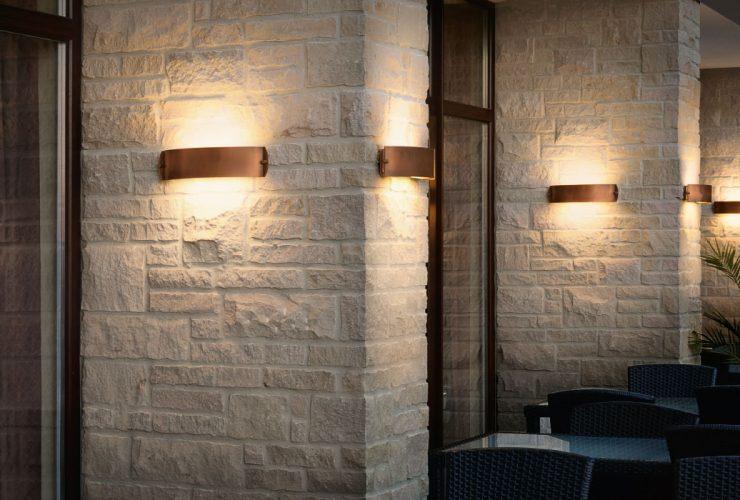 bega lampade applique muro esterno